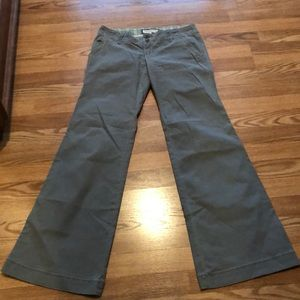 NWT Abercrombie & Fitch wide leg pant size 4 sage